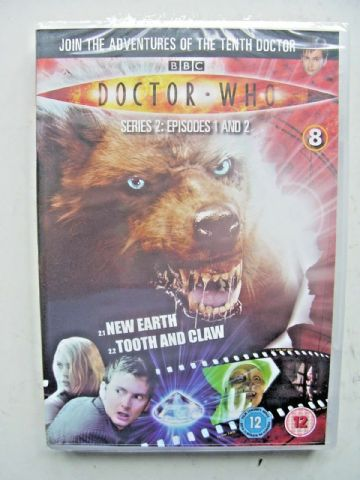 Doctor Who Series 2 Episodes 1 & 2  DVD David Tennant - NEW